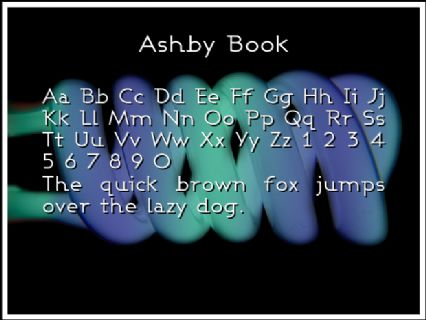 Ashby Book Font Preview