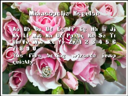 Minneapolis Regular Font
